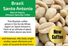 Load image into Gallery viewer, Brazil Santo Antonio - Unroasted Natural Coffee