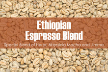 Load image into Gallery viewer, Ethiopian Espresso Blend - Unroasted Natural Coffee