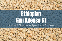 Load image into Gallery viewer, Ethiopian Guji Kilenso - Unroasted Natural Coffee