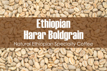 Load image into Gallery viewer, Ethiopian Harar Boldgrain - Unroasted Natural Coffee