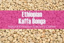 Load image into Gallery viewer, Ethiopian Kaffa Bonga - Unroasted Natural Coffee