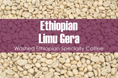 Ethiopian Limu Gera - Unroasted Washed Coffee