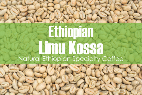 Ethiopian Limu Kossa - Unroasted Natural Coffee