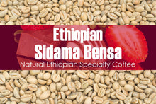 Load image into Gallery viewer, Ethiopian Sidama Bensa - Unroasted Natural Coffee