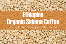 Load image into Gallery viewer, Ethiopian Organic Sidama - Unroasted Natural Coffee
