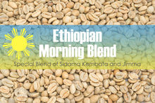 Load image into Gallery viewer, Morning Blend - Unroasted Ethiopian Coffee