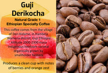 Load image into Gallery viewer, Ethiopian Guji Derikocha Natural G1 (Medium Roast)