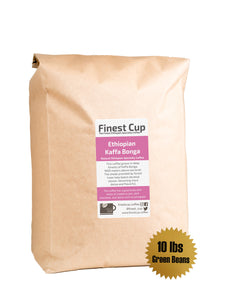 Ethiopian Kaffa Bonga - Unroasted Natural Coffee