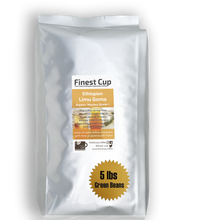 Load image into Gallery viewer, Ethiopian Limu Goma Organic G1 - Unroasted Washed Coffee