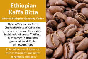 Ethiopian Kaffa Bitta (Medium Roast)