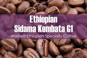 Ethiopian Sidama Kembata (Medium Roast)