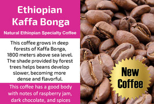 Ethiopian Kaffa Bonga (Medium Roast)