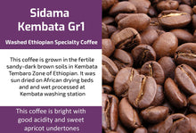 Load image into Gallery viewer, Ethiopian Sidama Kembata (Medium Roast)