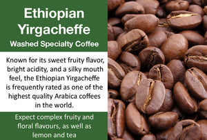 Ethiopia Yirgacheffe (Medium Roast)