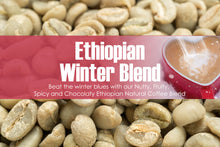 Load image into Gallery viewer, Ethiopian Winter Blend - Unroasted Washed Coffee