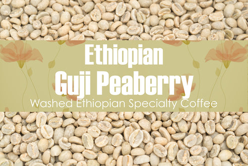 Ethiopian Guji Peaberry - Unroasted Washed Coffee