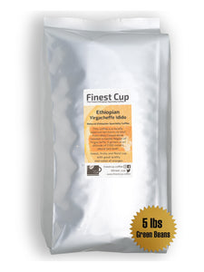 Ethiopian Yirgacheffe Idido G1 - Unroasted Natural Coffee