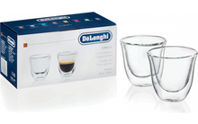 Load image into Gallery viewer, DeLonghi Espresso Glasses - (2 pack)