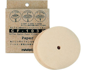 Hario Syphon Paper Filter 100 Pack