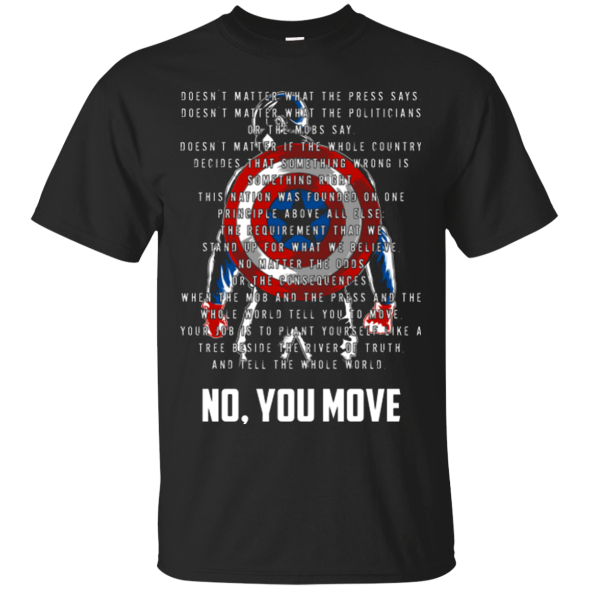 Captain America Shirts Doesn't Matter What The Press Say