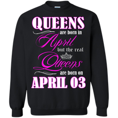 April Girl Shirts Queens Are Born In April 03