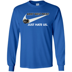 Army West Point Black Knights T shirts Just Hate Us