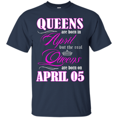 April Girl Shirts Queens Are Born In April 05
