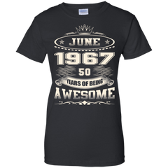 1967 Shirts June 1967 50 Years Awesome