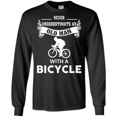 Bicycle Old Man Shirts Old Man With A Bicycle