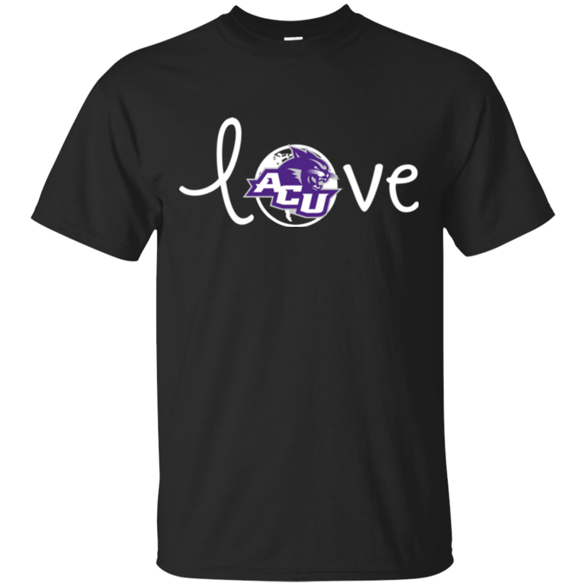 Abilene Christian Wildcats T shirts Love