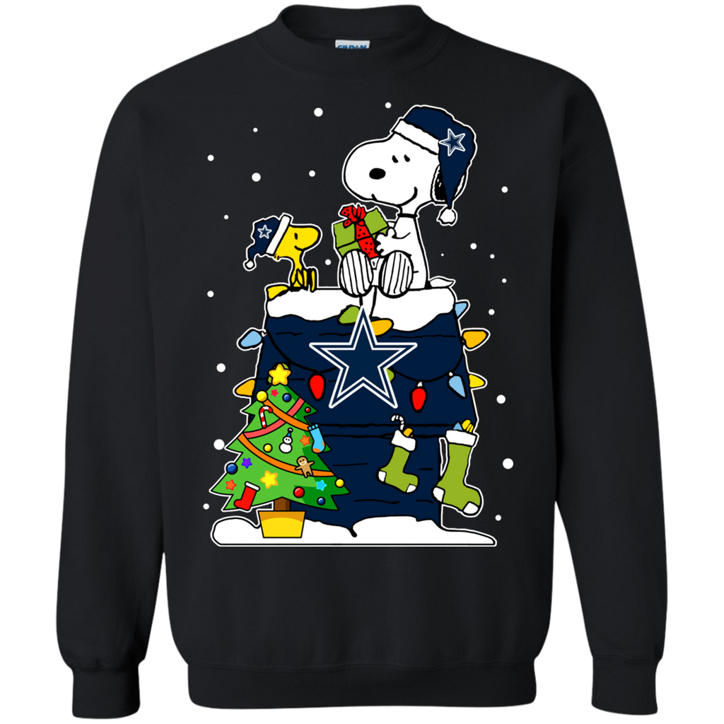 987c37ad675 Dallas Cowboys Ugly Christmas Sweaters Snoopy Hoodies Sweatshirts ...