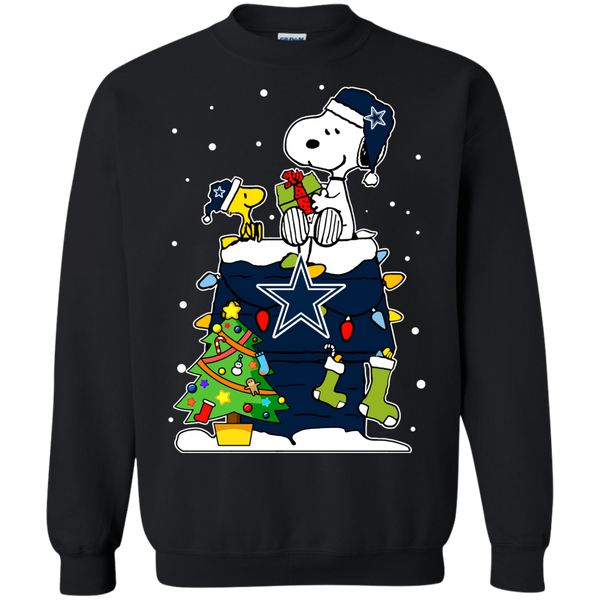 Dallas Cowboys Ugly Christmas Sweaters Snoopy Hoodies Sweatshirts
