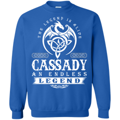 Cassady Shirts The Legend Is Alive