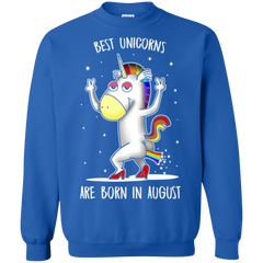 August Unicorns Shirts Best Unicorns Are Born In August