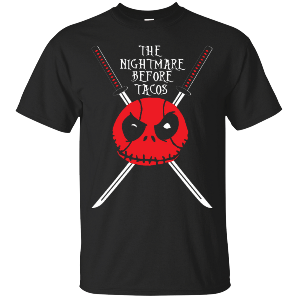 Deadpool Nightmare Before Christmas Taco Shirts Nightmare Before ...