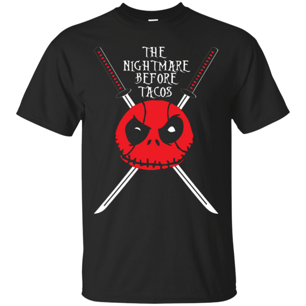 Deadpool Nightmare Before Christmas Taco Shirts Nightmare Before Tacos