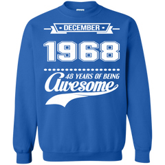 Awesome Shirts December 1968 48 Years Being Awesome   Copy
