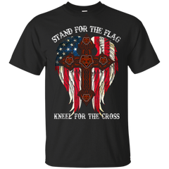 Brown Bears T shirts Stand For The Flag