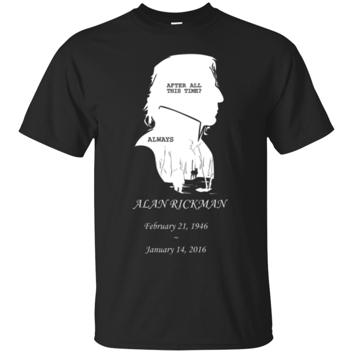 Alan Rickman Harry Potter Shirts After All This Time