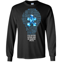 Autism Shirts Look Beyond Autism See Someone Special