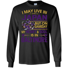 Baltimore Ravens Japan Shirts May Live In Japan But Heart & Soul In Baltimore