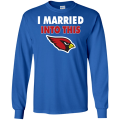 Arizona Cardinals T shirts I Married Into This