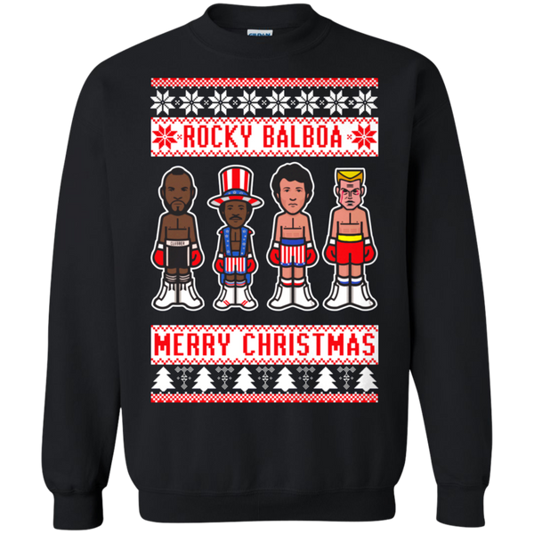 Rocky Balboa Ugly Christmas Shirts Merry Christmas