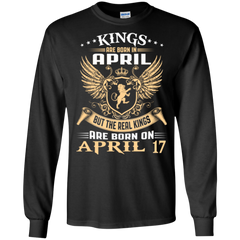 April Man Shirts Real Kings Born In April 17