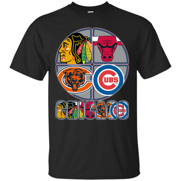 Chicago Blackhawks Chicago Cubs Chicago Bears Chicago Bulls Shirts