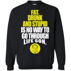Animal House Dean Wormer Shirts Fat Drunk & Stupid