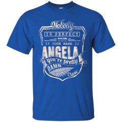 Angela Shirts Nobody Is Perfect