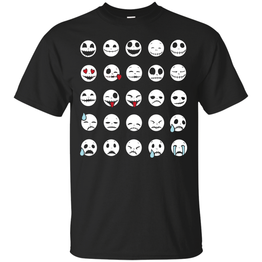Nightmare Before Christmas Shirts Jack Emotions – TeeSmiley
