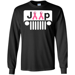 Breast cancer T shirts Jeep Ribbon