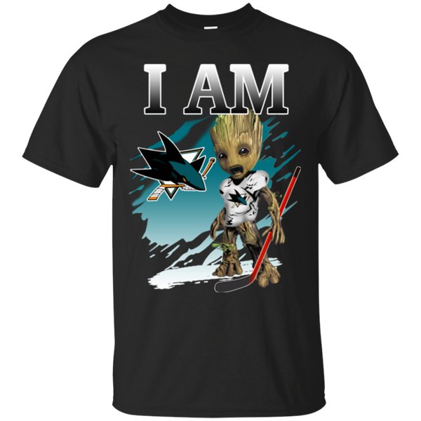 I Am Groot San Jose Sharks Shirts